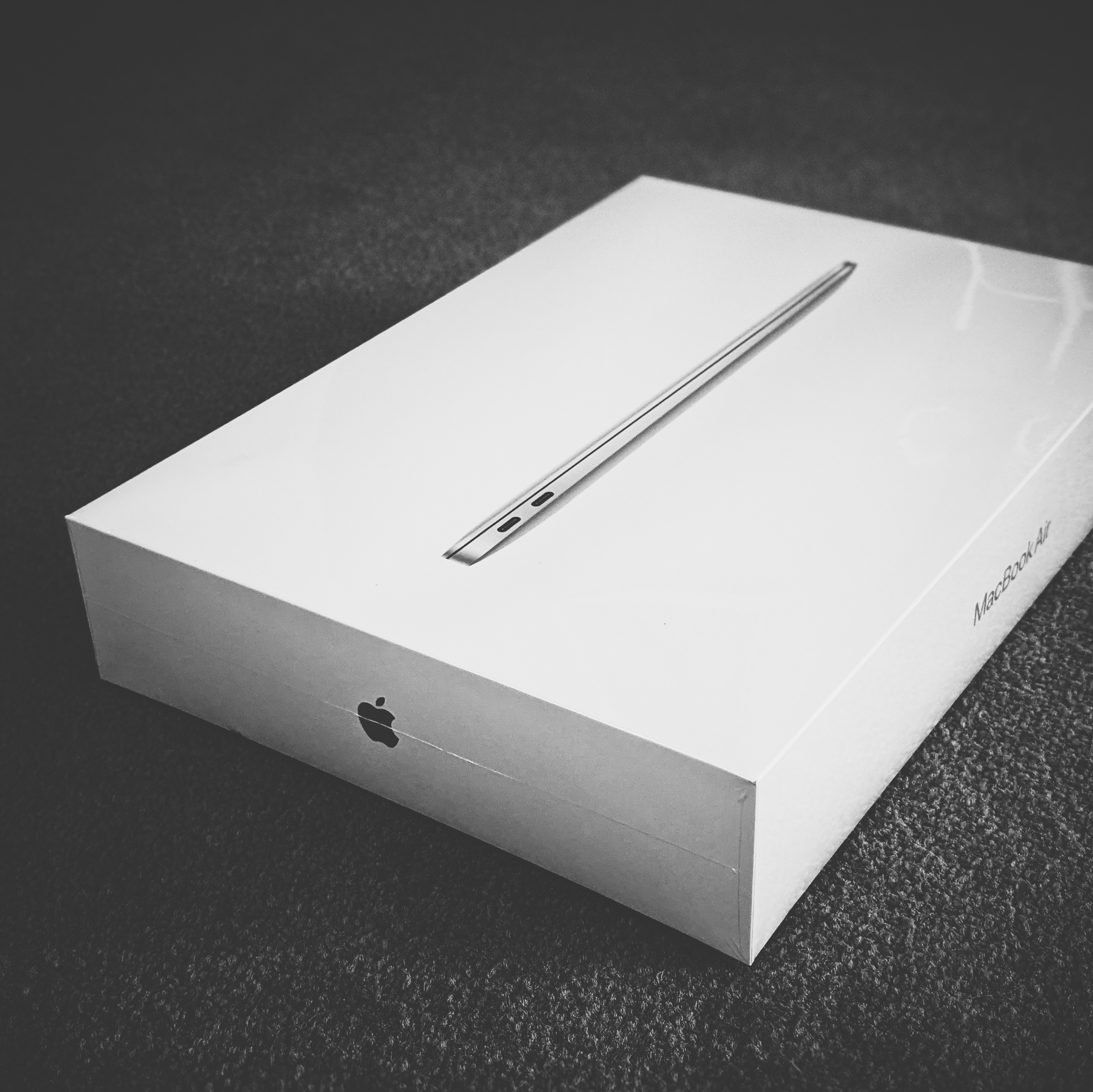Unopened M1 MacBook Air box